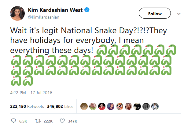 National Snake Day
