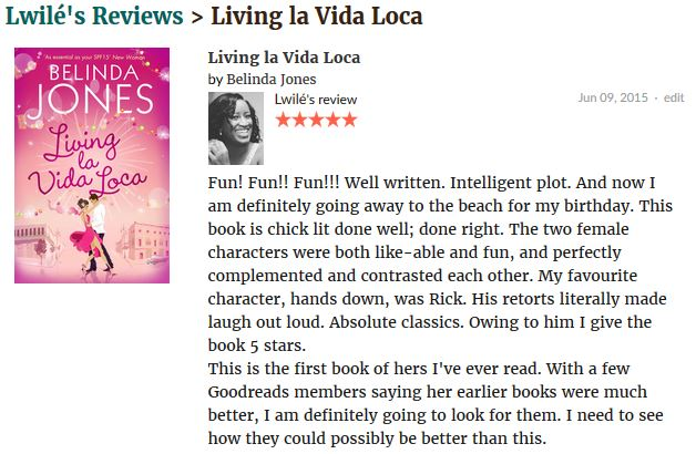 Living la Vida Loca review