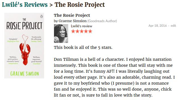 The Rosie Project review.JPG