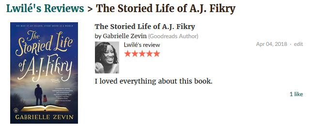 The Storied Life of A.J. Fikry review.JPG