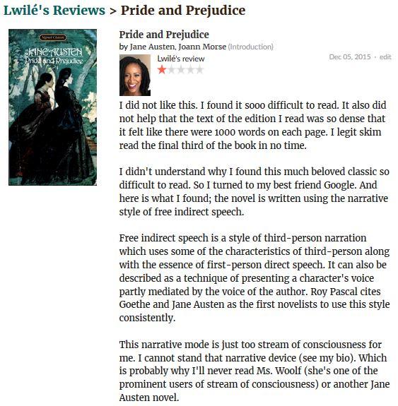 Pride and Prejudice review.JPG