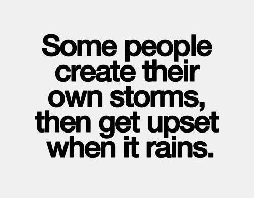 Creating my own storms