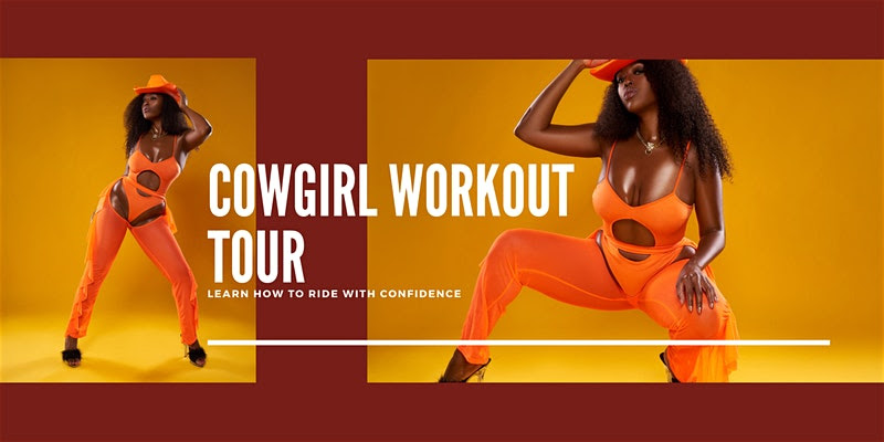 Let's Talk Pleasure Coach Tyomi's Cowgirl Workout Tour
