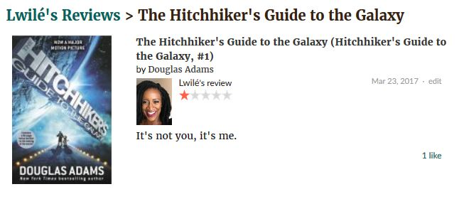 The Hitchhiker's Guide to the Galaxy by Douglas Adams review