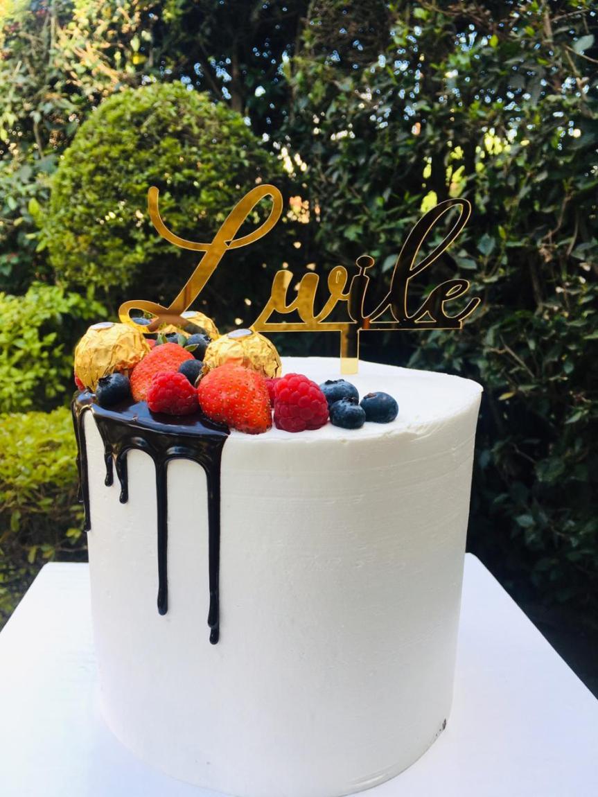 33 bday cake