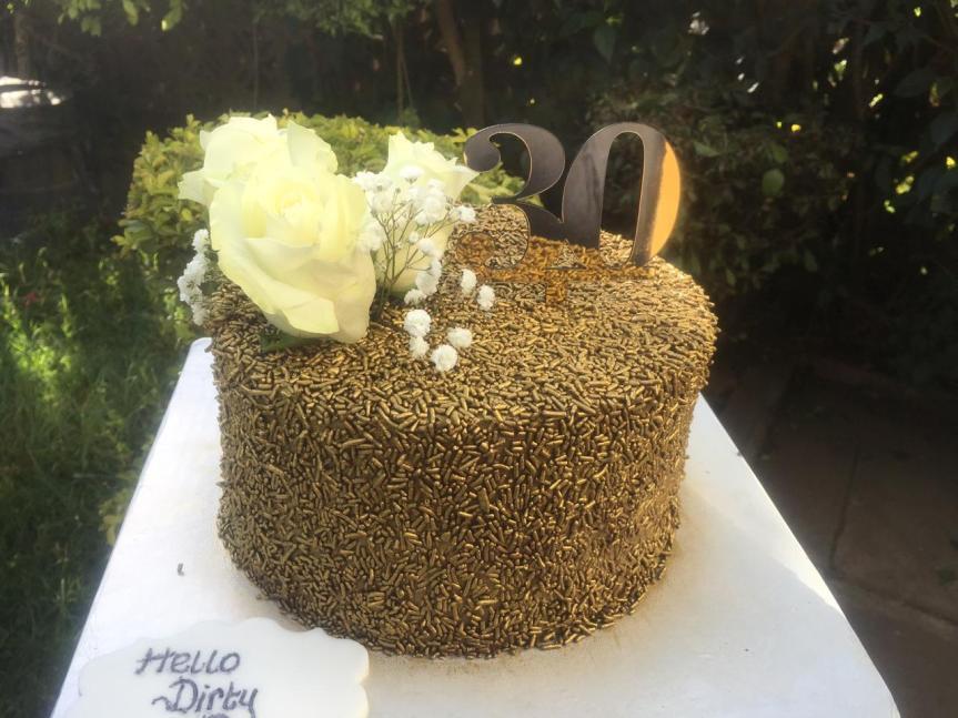 Aud bday cake
